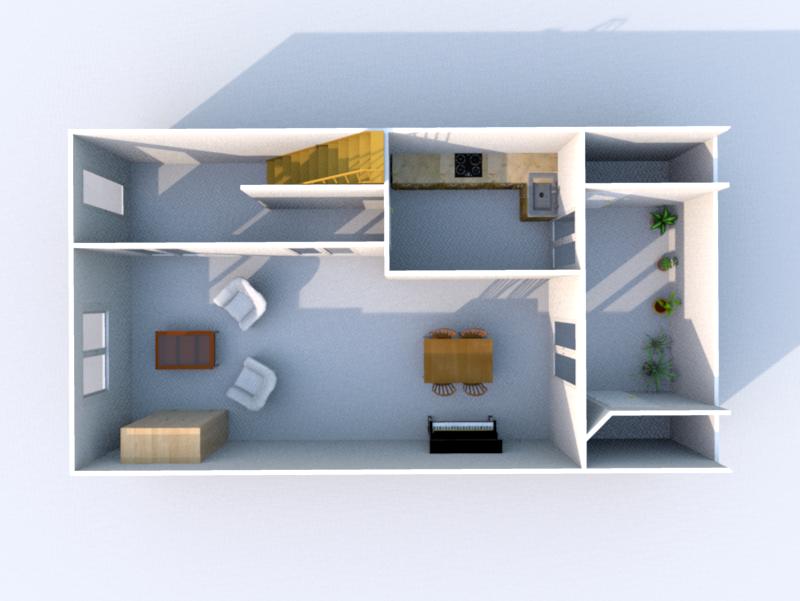 Plan RDC 3D