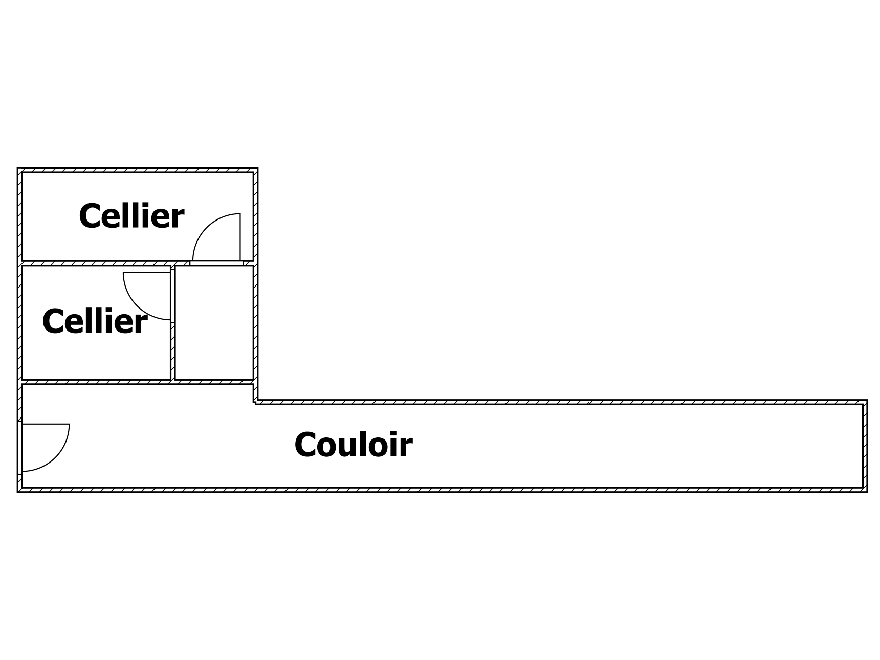 plan cellier Rdc idem +1