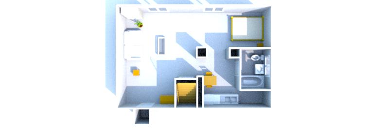 Plan etage 3d