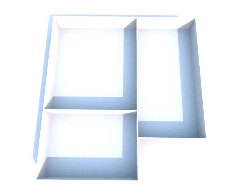 Plan 3D niveau -1