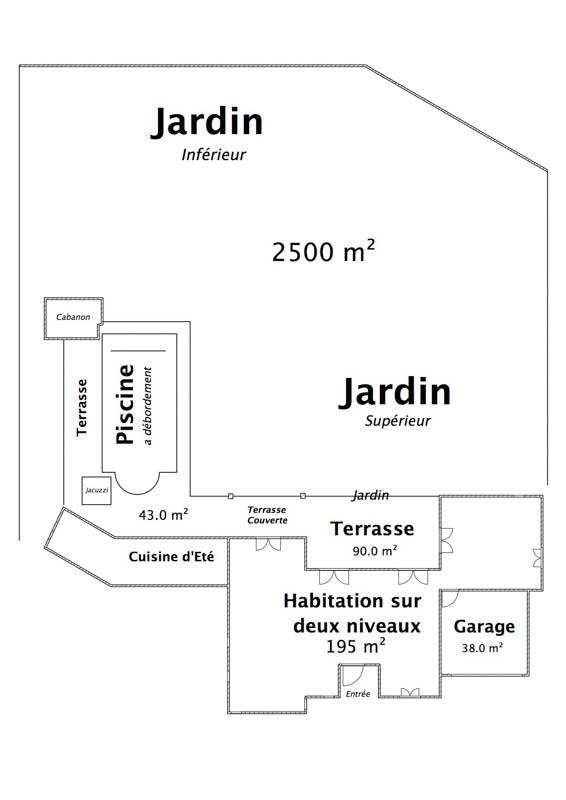 Extérieur Zoom  (Habitation principale)