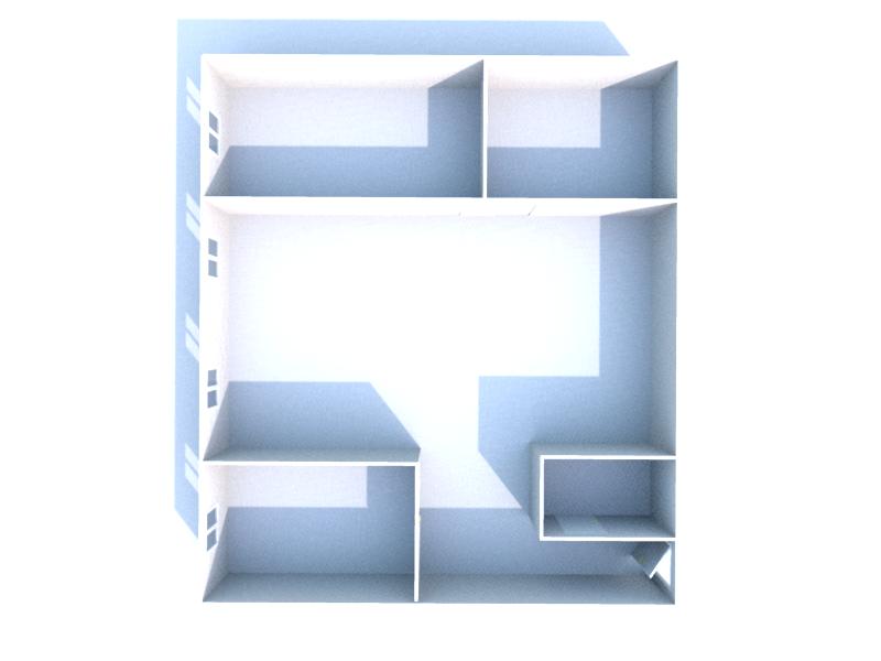Plan 3D niveau 0
