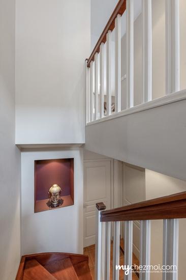 Escalier niveau 1 et 2
