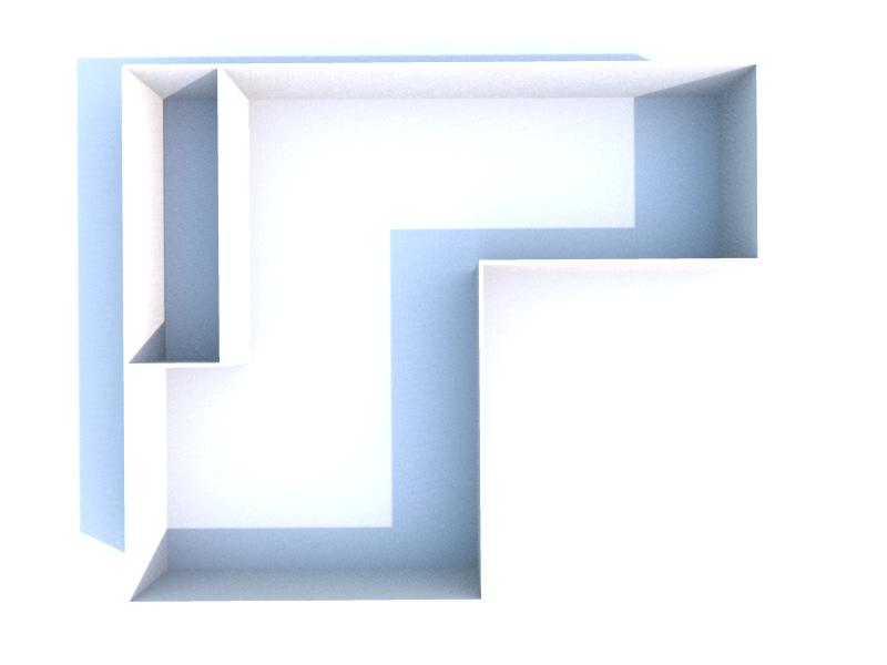 Plan 3D cave