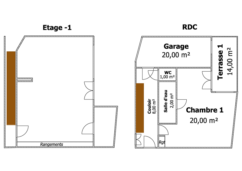 plan rdc -1 Zoom