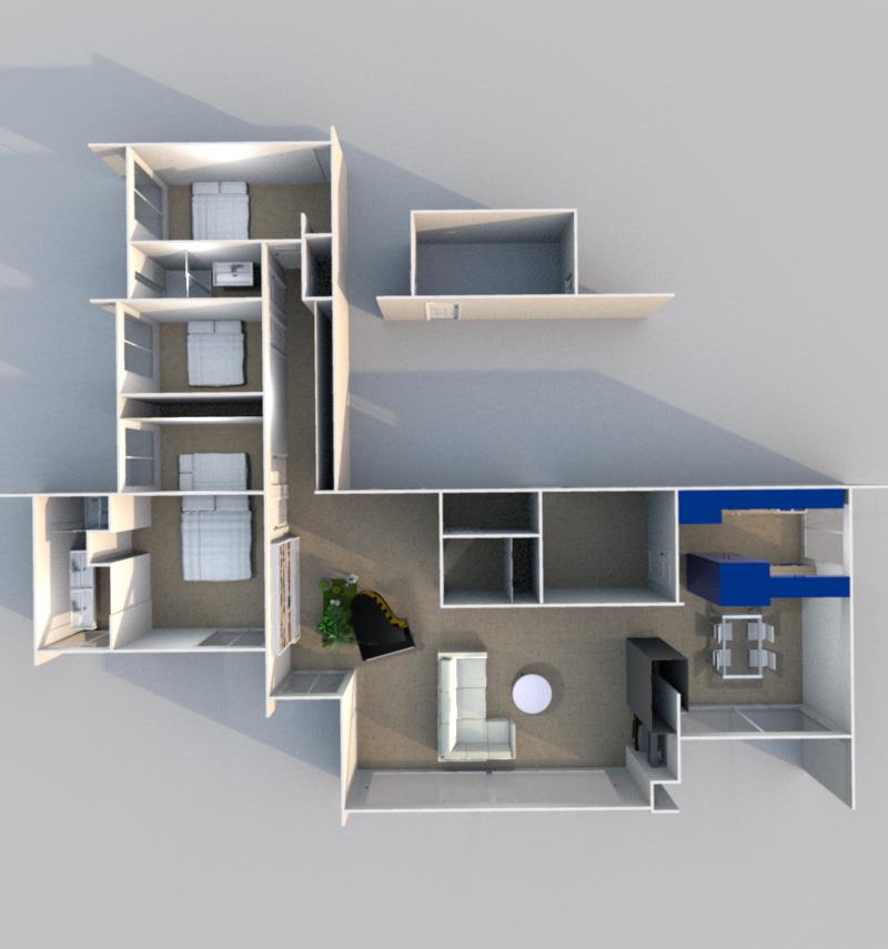 3D Intérieur (Illustration)