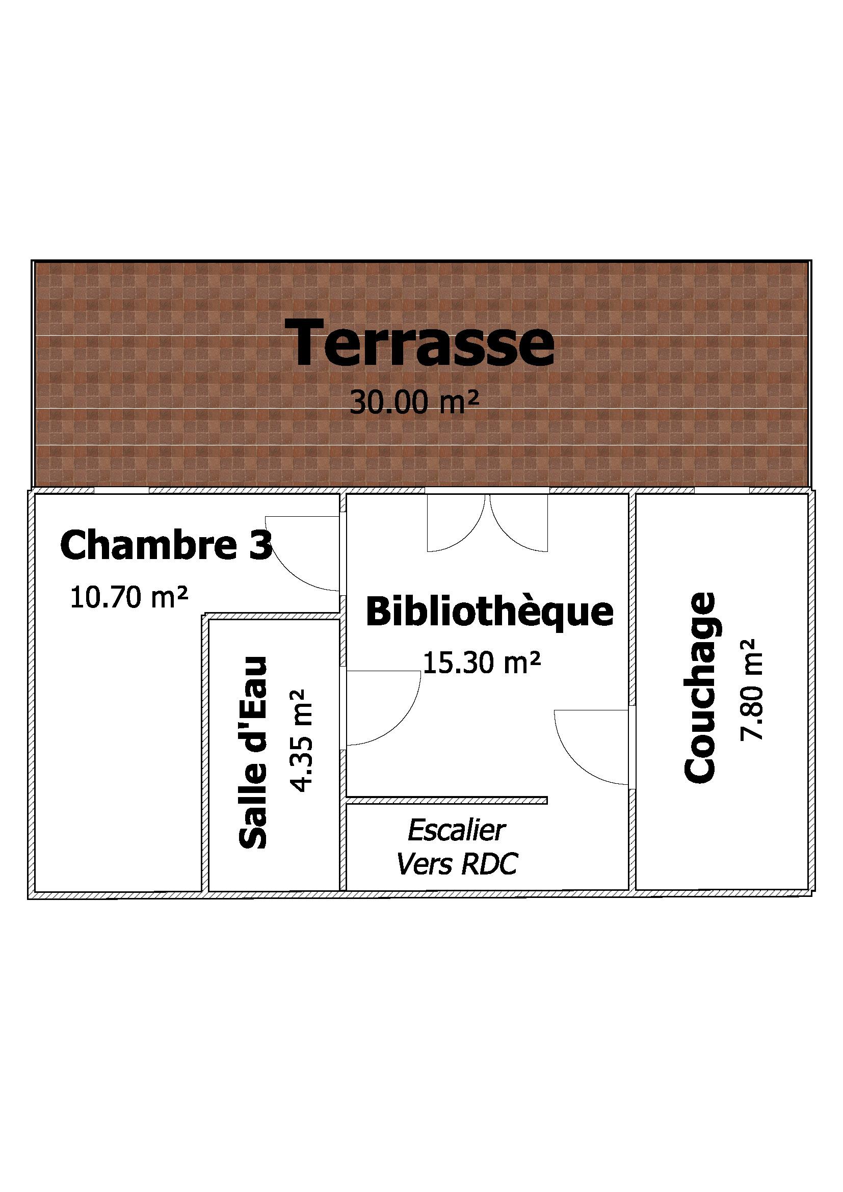 Plan ZOOM Etage 1