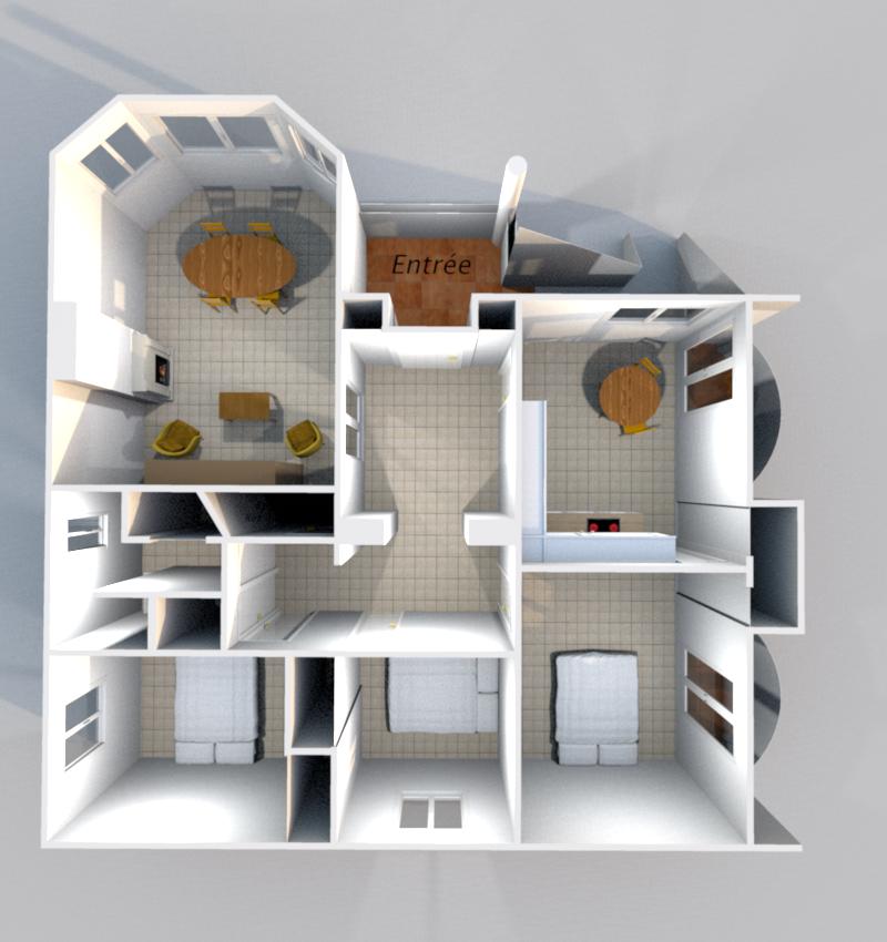 3D Etage 1