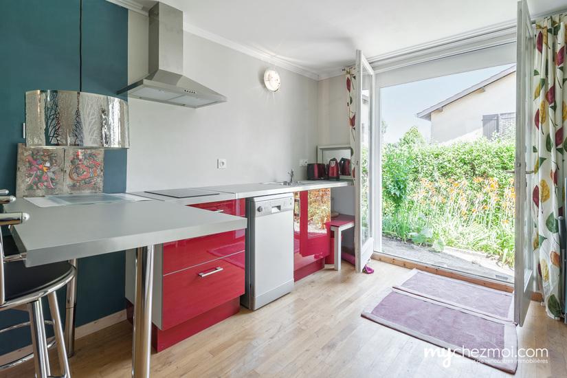 Chambre 4 + cuisine sur jardin