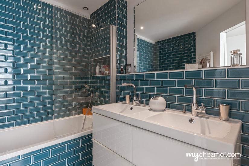 Salle de bains chambre parent niveau 1
