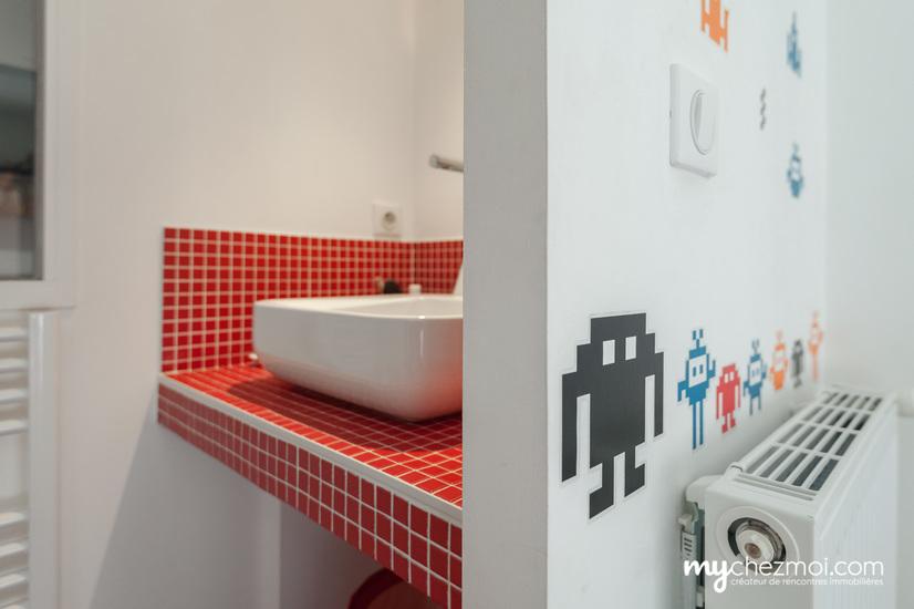Salle d'eau chambre 2 niveau 2