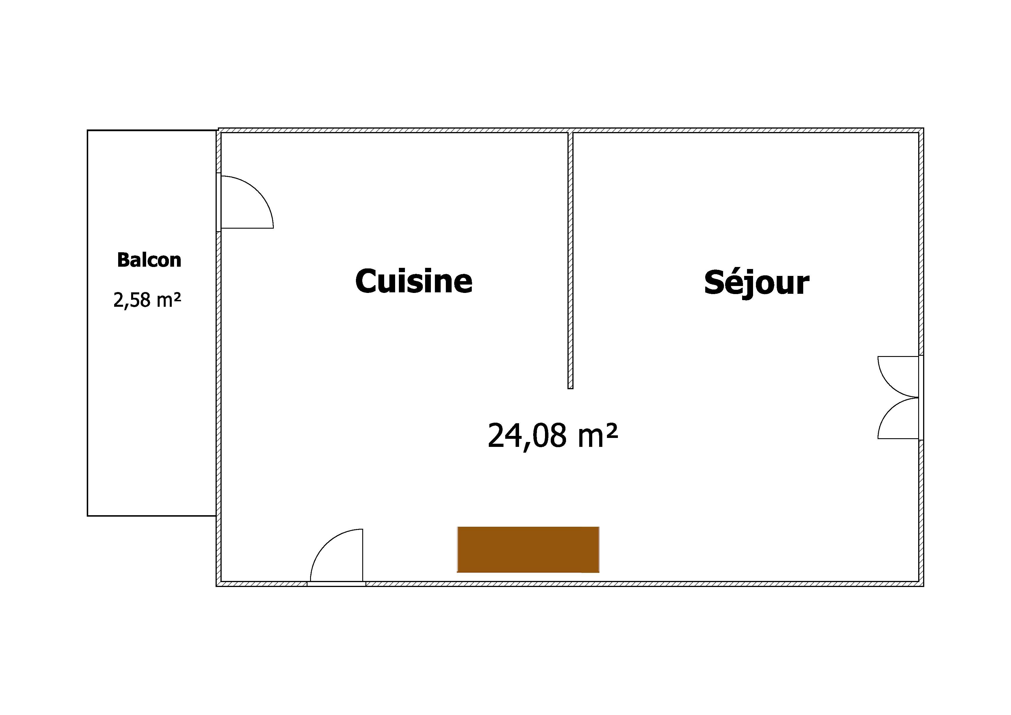Plan étage 1 ZOOM