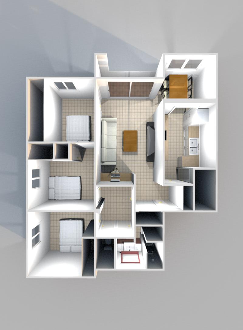vente appartement t4 aix en provence ouest m 299 000. Black Bedroom Furniture Sets. Home Design Ideas
