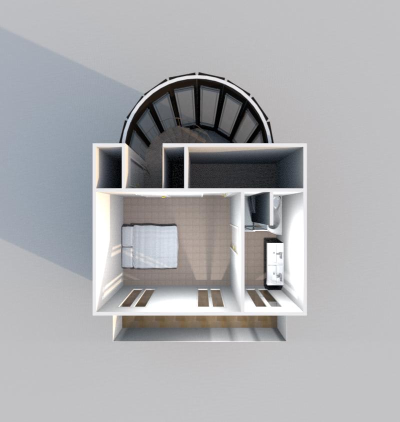 3D Etage 1 (Illustration)