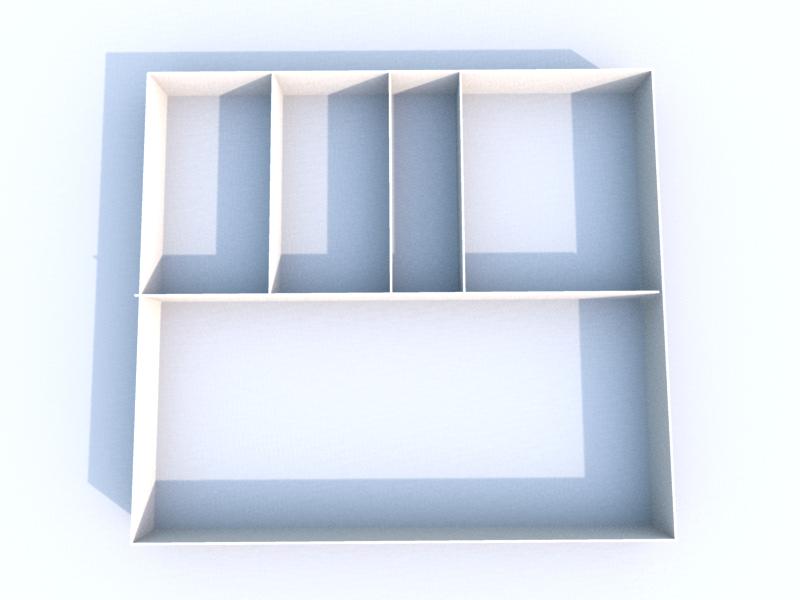 Plan 3D Sous-sol