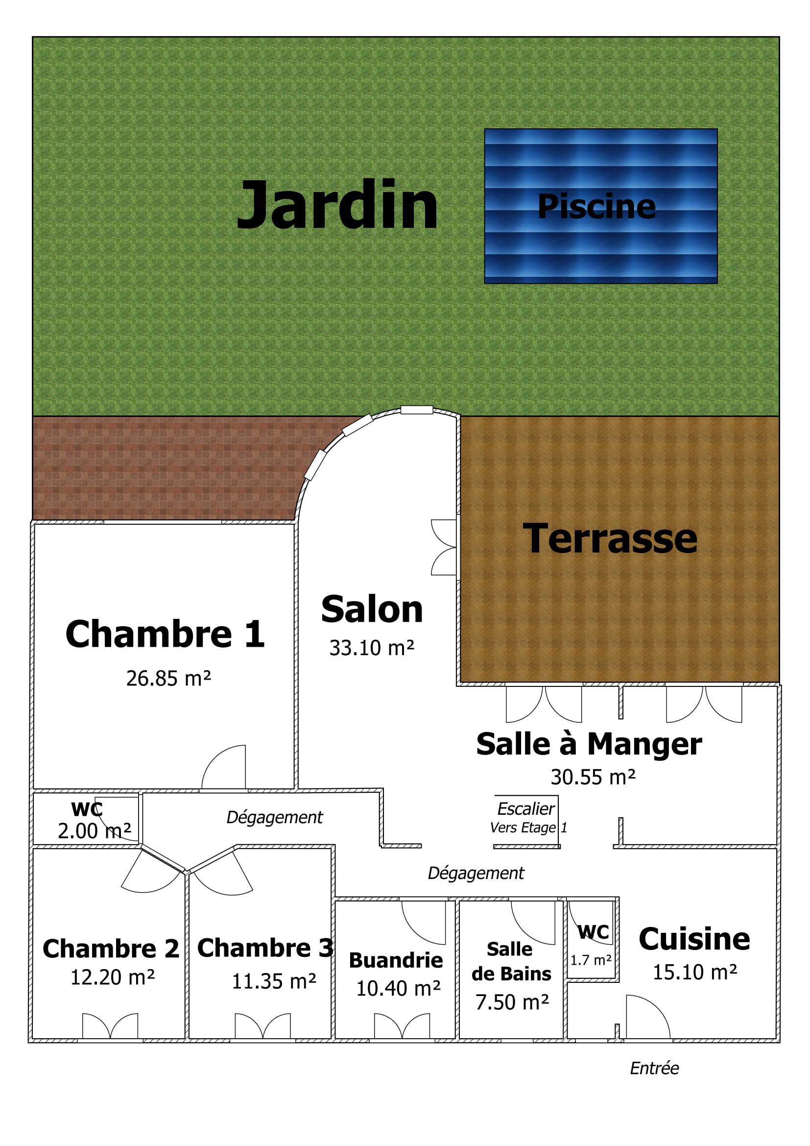 Plan ZOOM RDC