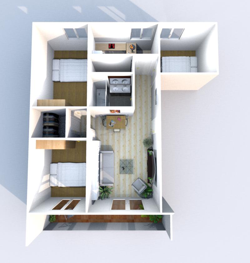 Simulation Réaménagement 3D
