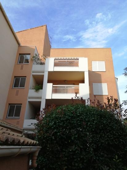 façade de l'appartement