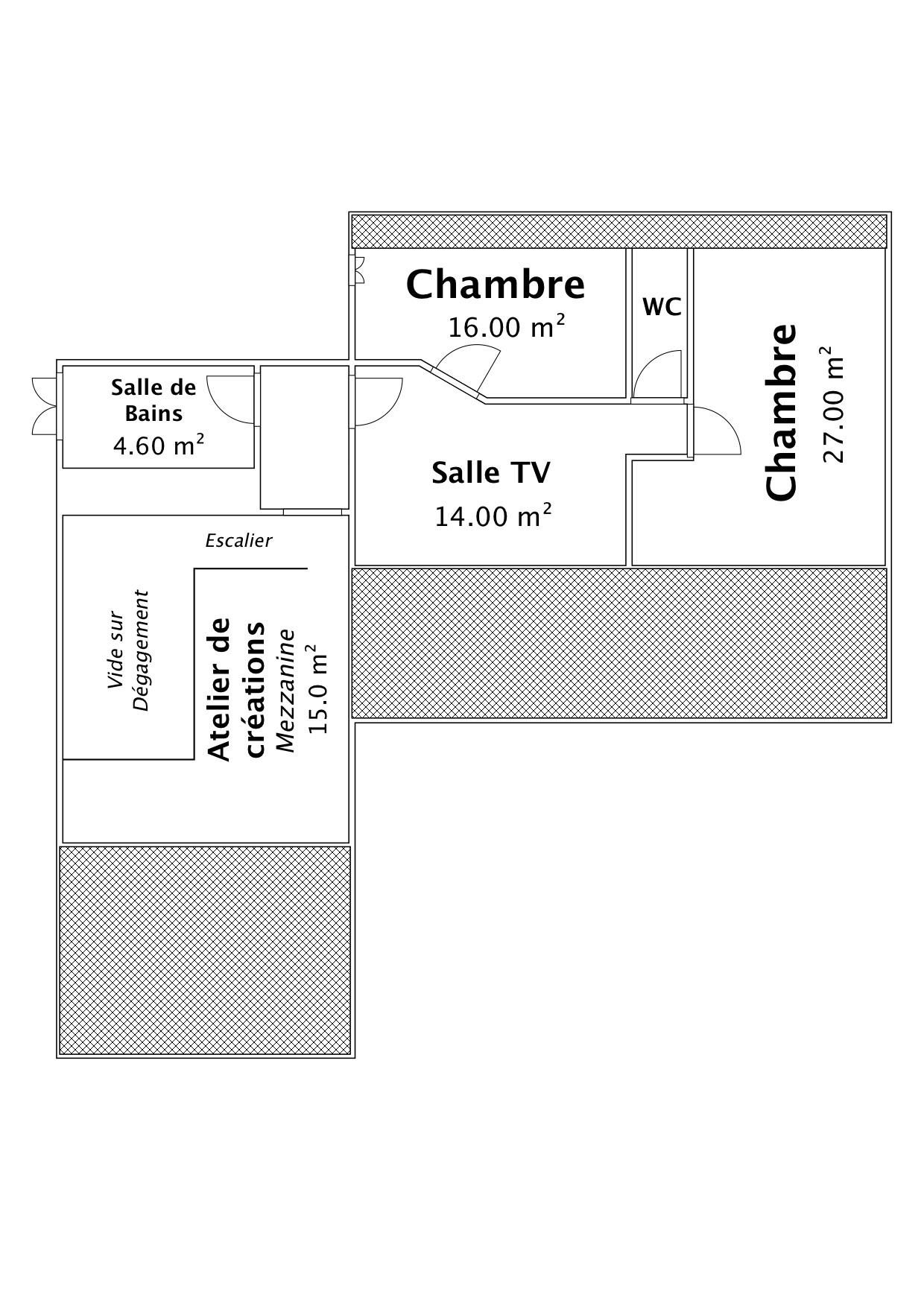 Etage 1 ZOOM