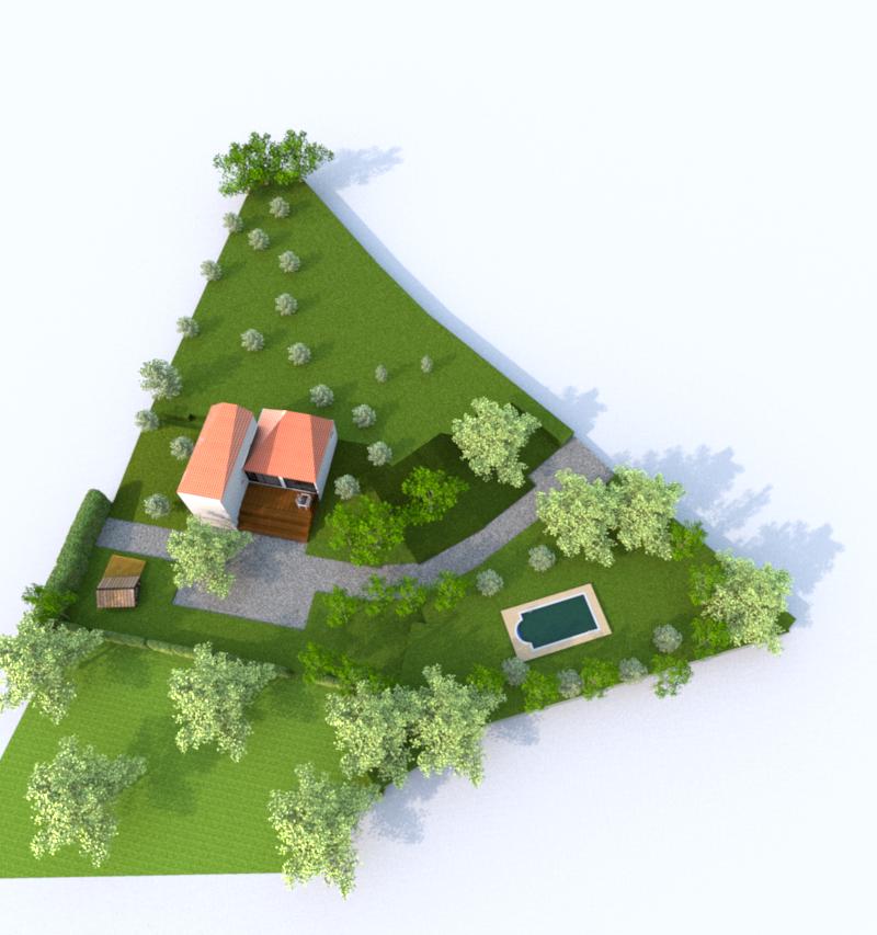 3D Jardin (Illustration)