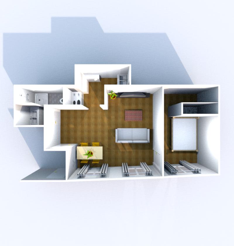 3D Plan (Illustration)