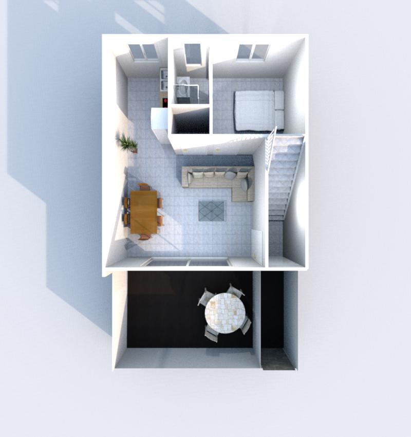 Rez de Chaussée 3D (Illustration)