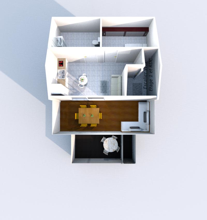 Etage 2 3D (Illustration)