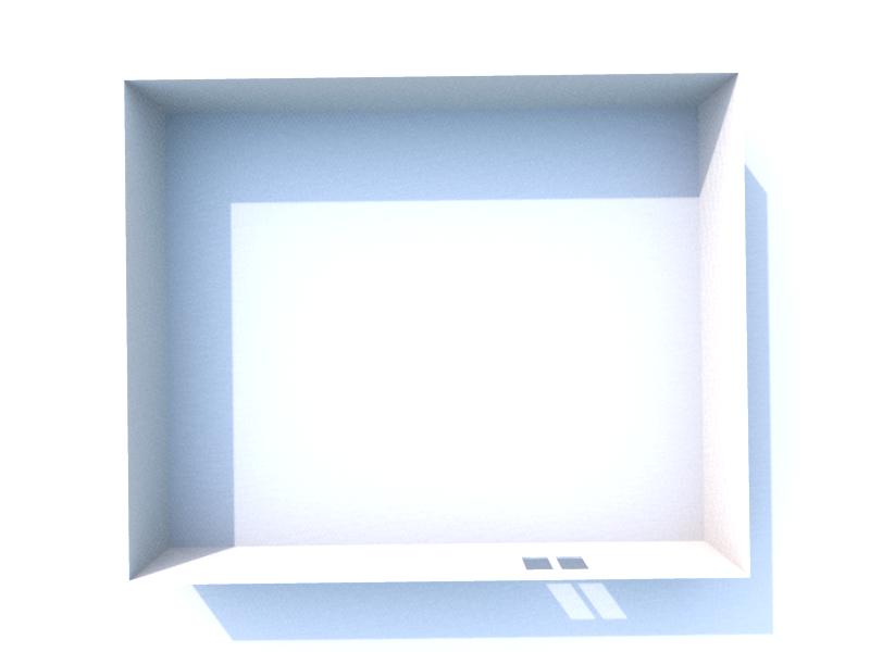 Plan 3D sous sol