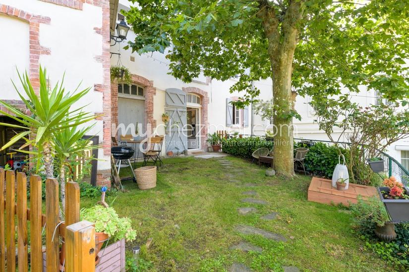 Jardin maison de jardinier
