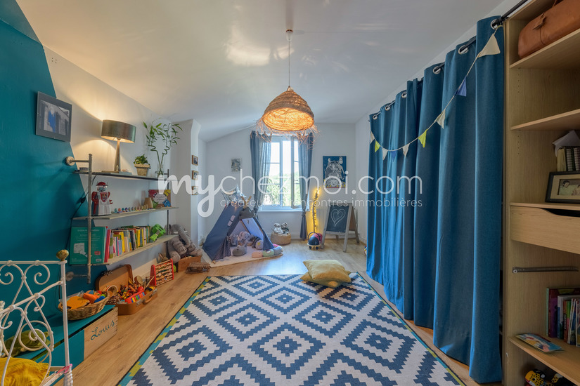 Chambre 1 maison de jardinier